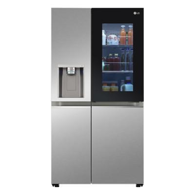 CES 2021: frigo InstaView Door-in-Door  chiaro - Foto by LG
