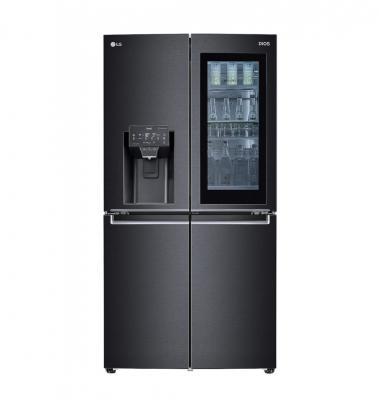 CES 2021: frigo InstaView Door-in-Door scuro - Foto by LG