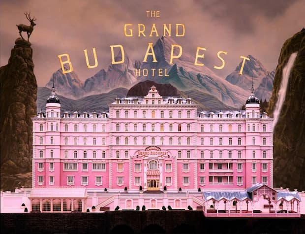 The grand Budapest Hotel film di Wes Anderson