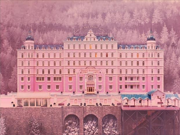 Carta da parati The Grand Budapest Hotel Wallpaper