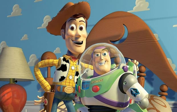 Carta da parati film Toy Story