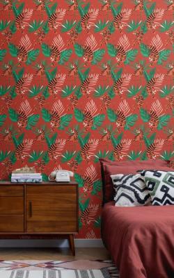 Wes Anderson - carta da parati moderna Margot by Murals wallpaper