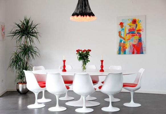 Tavolo e sedie pop art by mobile design