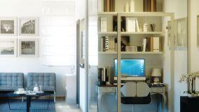 Come creare una postazione smart working in casa con pannelli divisori