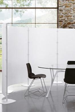 Pannelli divisori mobili di Tecnoarredo