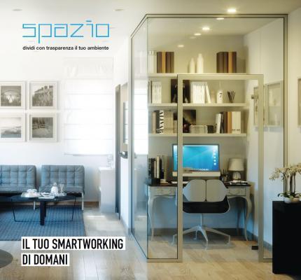 Spazio smartworking in casa con i divisori Faraone