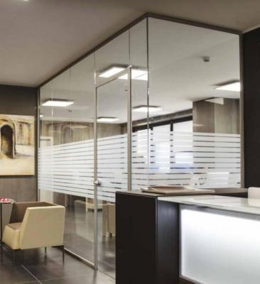 Sistema Spazio pareti divisorie in vetro