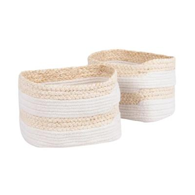 Cesti in fibra di mais e cotone - Foto by Maisons du Monde