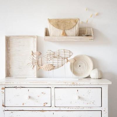 Vassoio in legno di mango bianco - Foto by Maisons du Monde