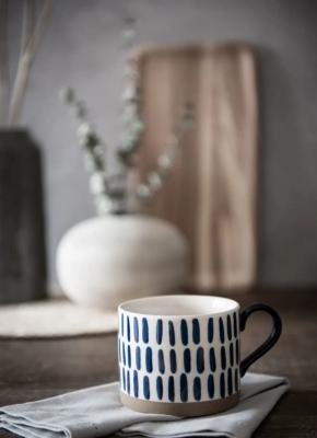 Yukon, tazza con motivi a tratti - Foto by Maisons du Monde