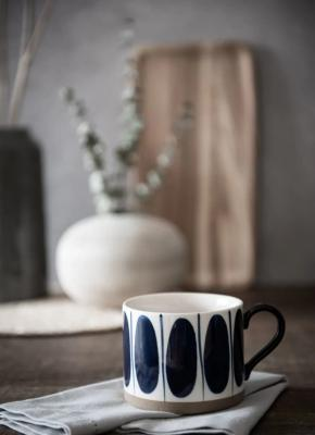 Yukon, tazza con motivi ovali - Foto by Maisons du Monde