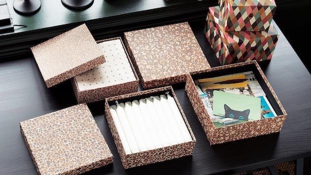 Set di scatole multicolore Dekorera - Foto by Ikea
