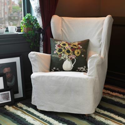 Federa cuscino con fantasia floreale Dekorera - Foto by Ikea