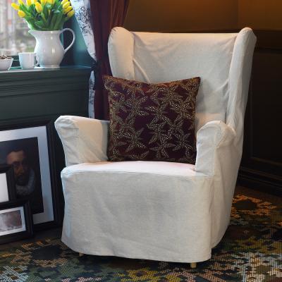 Federa cuscino con fantasia vinaccia Dekorera - Foto by Ikea
