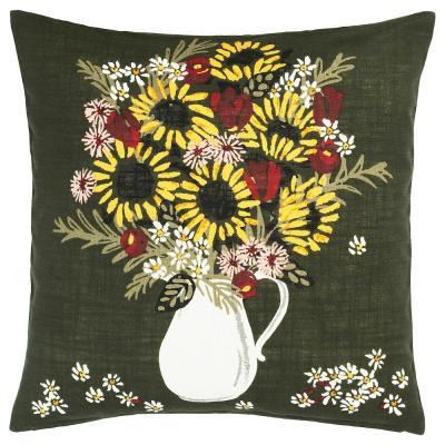 Federa per cuscino con fantasia floreale Dekorera - Foto by Ikea
