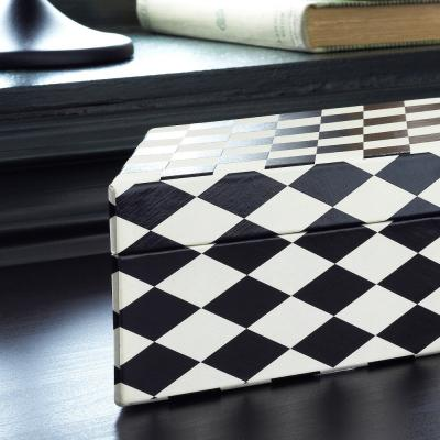 Scatola bianca e nera Dekorera - Foto by Ikea