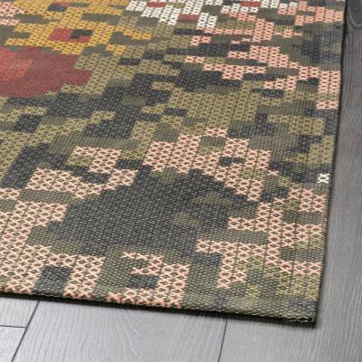 Tappeto a fantasia floreale Dekorera - Foto by Ikea