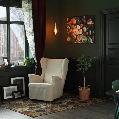 Tappeto motivo floreale Dekorera - Foto by Ikea