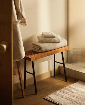 Asciugamano bordura - Foto by Zara Home