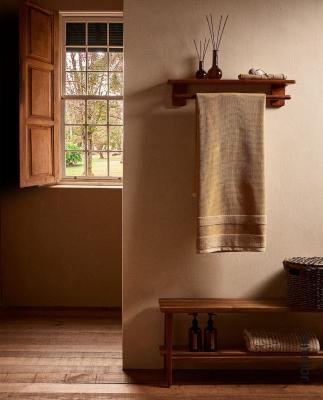 Asciugamano in cotone waffle - Foto by Zara Home
