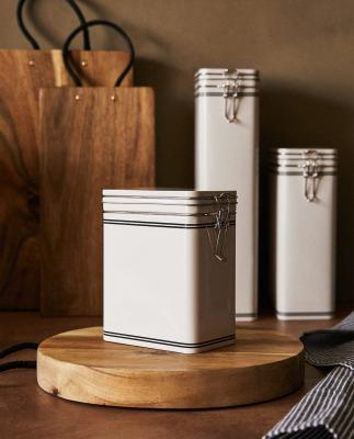Barattoli in alluminio - Foto by Zara Home