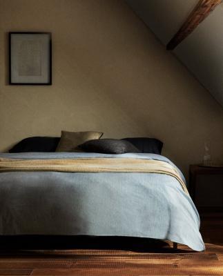 Copripiumino in cotone lavato - Foto by Zara Home