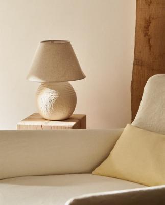 Lampada in terracotta - Foto by Zara Home