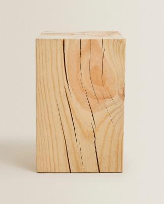 Tavolino in legno - Foto by Zara Home