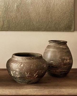 Vasi in terracotta - Foto by Zara Home