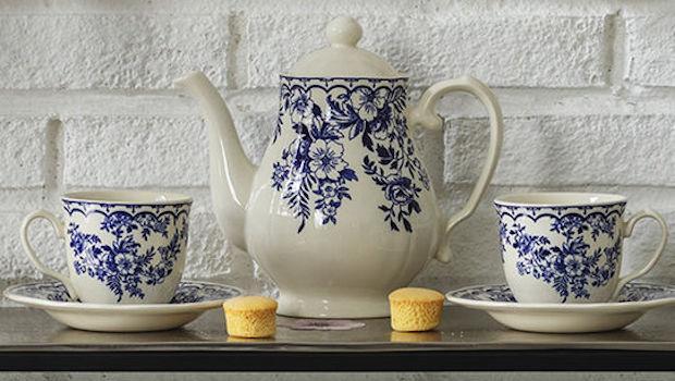 Set di tazze e teiera in ceramica - Foto by Coincasa
