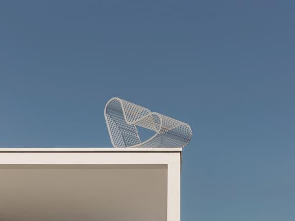 Sedia in alluminio per esterno di GandiaBlasco