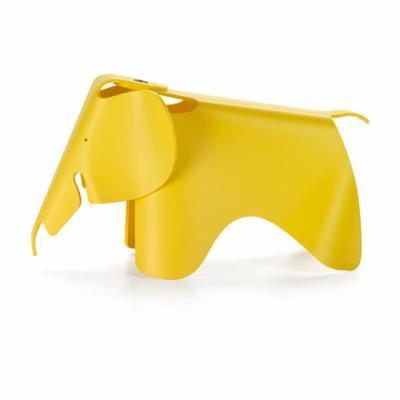 Vitra Eames Elephant, accessorio simpatico per portare il giallo in cameretta