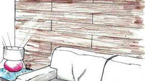 Come rivestire una parete interna con doghe in legno
