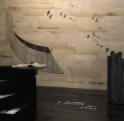 Rivestimento legno a parete - Cadorin