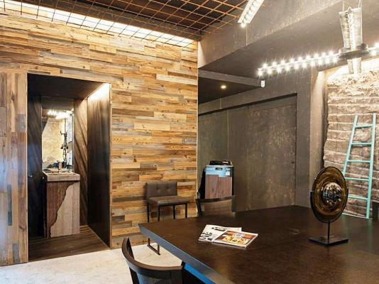 Rivestimento parete in legno Materia 3.0 Garbelotto
