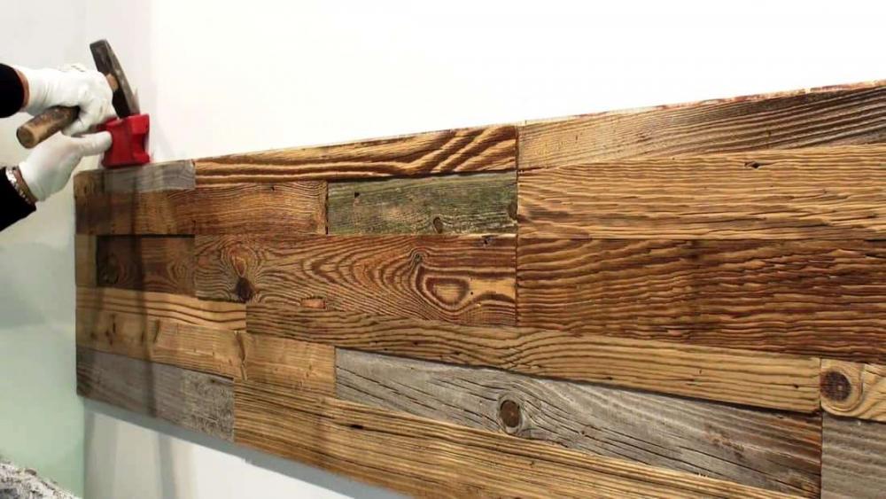 Rivestire parete con il legno - Garbelotto
