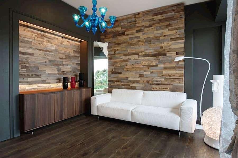 Pareti rivestite in legno Materia 3.0 Garbelotto