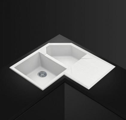 Modello Quadra SMEG installato, color bianco