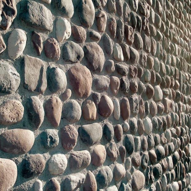 Pietra ricostruita: Ciottolo River di Biopietra