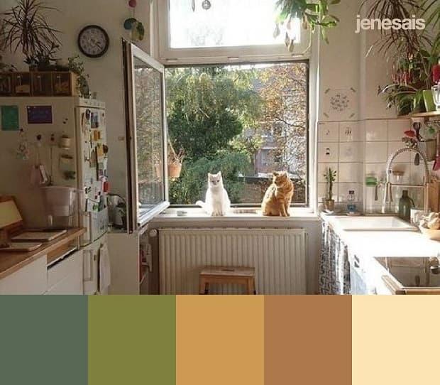 Colori cottagecore, da gridfiti.com