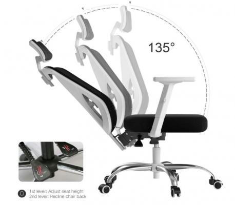 Regolazione schienale della sedia hbada