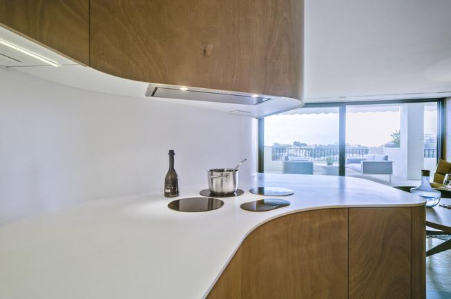 Piano cucina antibatterico Krion™