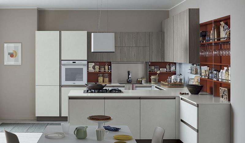 Top cucina antibatterico di Veneta Cucine