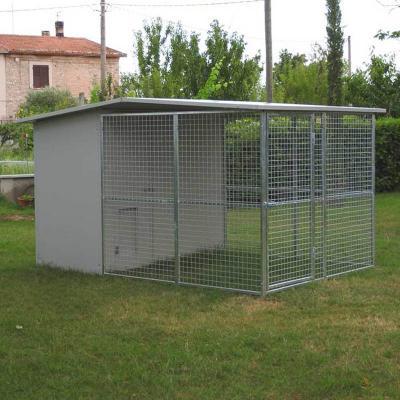 Box per cani modulare con tettoia Ferranti