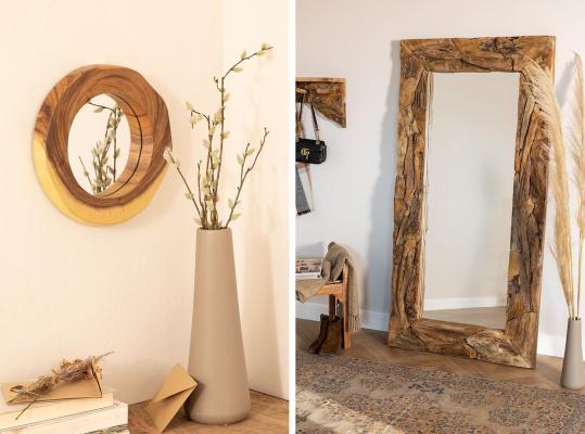 Arredamento casa di montagna - specchi stile rustico - Sklum