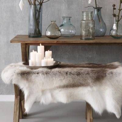 Arredamento casa montagna - tappeto pelliccia - Armoflex