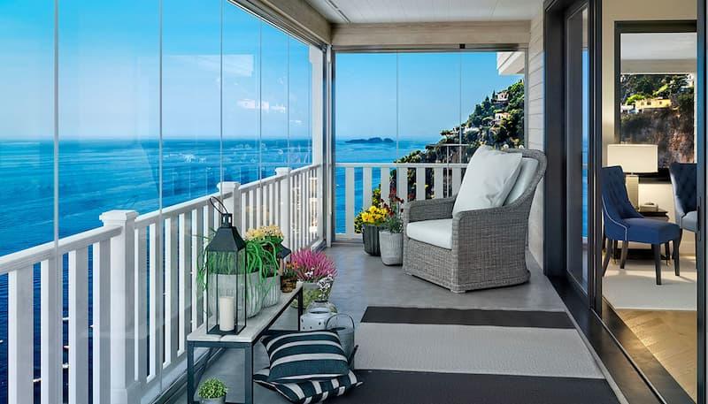 Vetrate panoramiche per balconi, Belle Vetrate Scorrevoli