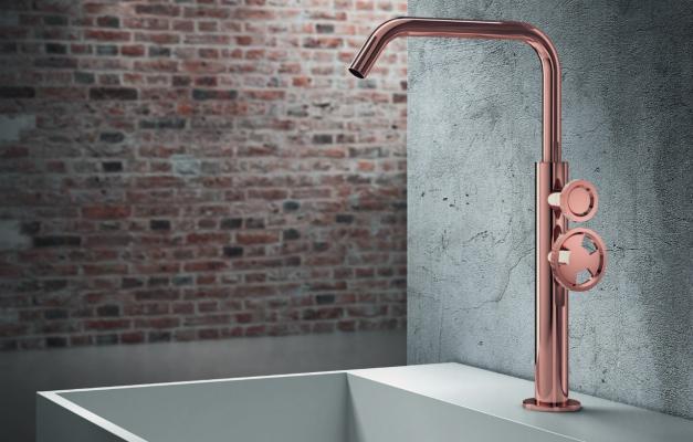 Rubinetto stile industriale Tibò rosee