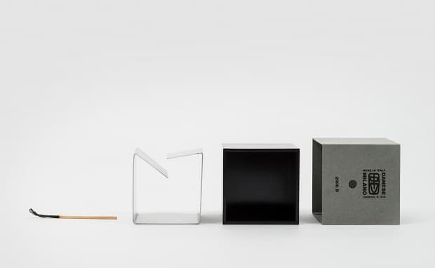 Cube ashtray by danese Milano