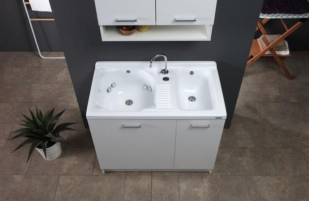 Lavatoio automatico di Colavene Active Wash 100 cm